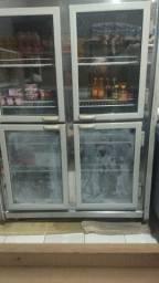 Freezer vertical gelopar expositor 4 portas de vidro