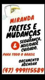 Miranda Fretes e Mudanças Balneário Camboriú e Região