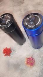 Título do anúncio: Garrafa Inox com Led de Temperatura ( dependendo do lugar entrego )