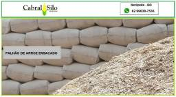 Título do anúncio: Silagem de milho e palhão de arroz ensacado