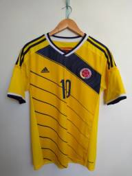 Camisa Colômbia home 2014