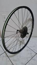 Título do anúncio: Roda de bicicleta shimano MTB aro29 com CASSETE sram 10v (10x42t)+