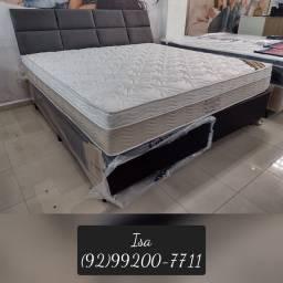 Título do anúncio: Cama cama Queen Size cama cama king ++ camas Ortobom direto de fábrica