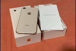 Título do anúncio: Vendo iPhone 8 Rose gold top