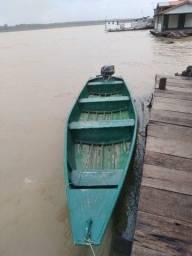 Título do anúncio: Vendo canoa e motor
