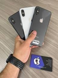 Título do anúncio: iPhone x - 256g - Black - com garantia / loja física