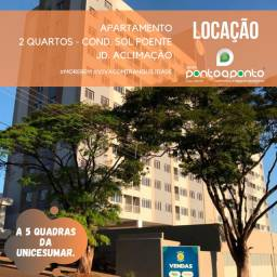 LOCAÇÃO | Apartamento, com 2 quartos em Jardim Aclimação, Maringá