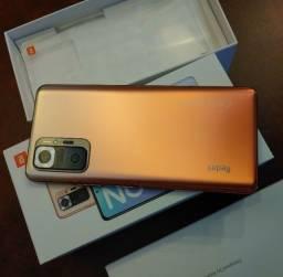 Xiaomi Redmi Note 10 Pro, 128gb 8gb de ram, câmera 108mpx!