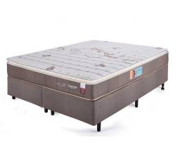 Conjunto box Charlotte (cama casal + colchão) 1,88x138m