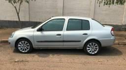 Título do anúncio: Clio sedan expression 2008 completo 1.0 flex