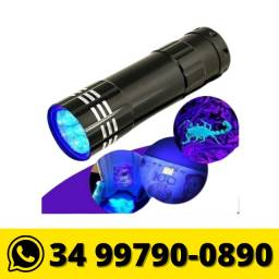 Título do anúncio: Mini Lanterna Luz Negra Detecção Notas Falsa Escorpião