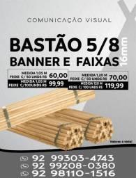Título do anúncio: Bastão para Banner - Ponteira para Banner - Cola para Banner