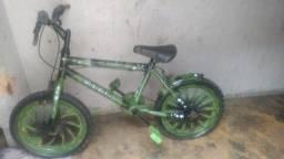 Título do anúncio: Bicicleta do Hulk usada poucas grafitada