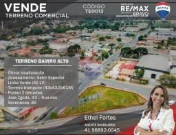 Título do anúncio: Terreno Comercial no Bairro Alto em Excelente Localização (Zoneamento Setor Especial-Linha
