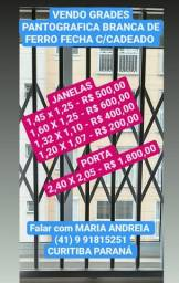 GRADES PANTOGRAFICA PARA JANELAS E PORTAS