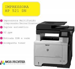 Título do anúncio: Impressora Multifuncional Hp Laserjet Pro M 521 Dn - 110v
