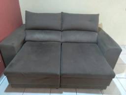 Título do anúncio: Sofa retratil 2,10mts R$600,00 urgente! Mudança