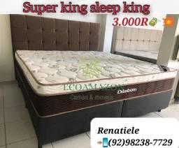 Título do anúncio: Cama Super King SLEEP KING // Entrega no mesmo dia