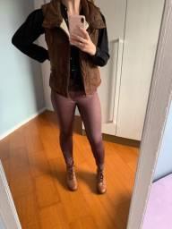 Colete Abercrombie e calça