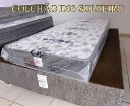 Título do anúncio: COLCHÃO SOLTEIRO D33 ORTOBOM ENTREGA GRÁTIS 018