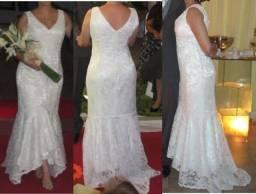Título do anúncio: Vendo vestido de noiva