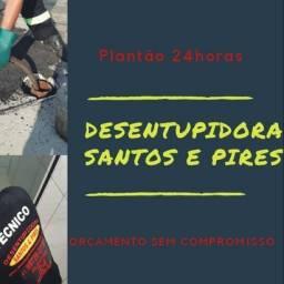 Desentupidora Santos e Pires.