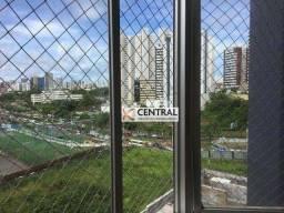 Apartamento com 3 dormitórios para alugar, 124 m² por R$ 2.000,00/mês - Candeal - Salvador