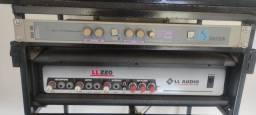 Título do anúncio: Amplificador com processador de Efeitos