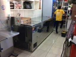 Título do anúncio: Freezer Alaska 1.600 litros semi novo inox .