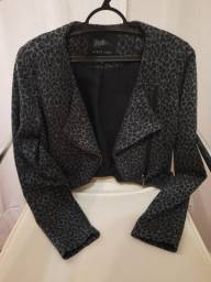 Blazer Cropped - Tam 36 - Pool