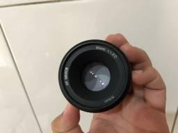Título do anúncio: Lente Nikon Af Nikkor 50mm F1.8D FX e DX  desfoque de fundo