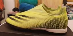 Título do anúncio: Chuteira Society Adidas X Ghosted.3 tam. 42