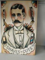 Título do anúncio: Quadros para barbearia