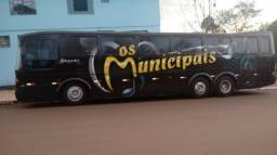 Ônibus pronto para Bandas - 1992