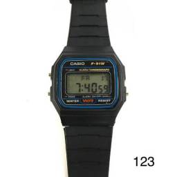 beae0107934 Relógio Casio Vintage Preto Silicone