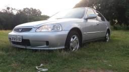 Honda Civic EX At Top De Linha   Raríssimo Estado De Conservação   2000