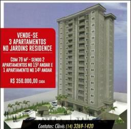 Apartamento 03 Quartos, Sendo 01 Suite. Jd. Residence - Lençóis Paulista
