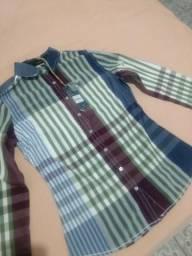 Camisa FEM( Pacific Blue)