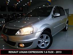 Renault Logan 1.6 expression 8v flex 4p manual - 2013