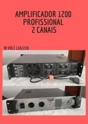 Amplificador LL Áudio 1200 (300w) (Desapegando)