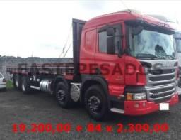 Scania p310 4 eixo carroceria - 2013