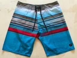 Bermuda Oakley Pacific Blue Masculino Original e Nova. (Tamanho: 44)