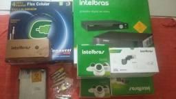 Kit completo de câmeras intelbras