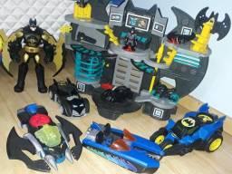 Brinquedos imaginext e Super Heroes