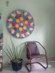 Mandalas coloridas são vida aos ambientes