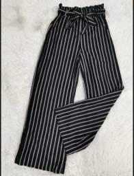 Calça Pantalona Listras