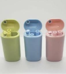 Canudo De Silicone Dobrável Reutilizável Ecológico + Case