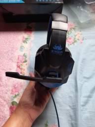 Fone headset o melhor para game com led. para celular pc e ps3 ps4 e x-box e x-one