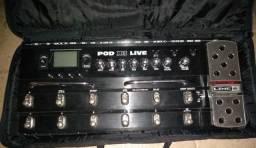 Pedaleira podx3 live da line 6 (leia a descrição)