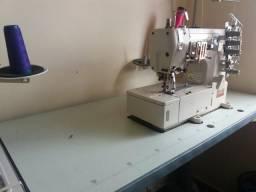 Máquina de costura goleira ganoleira semi nova